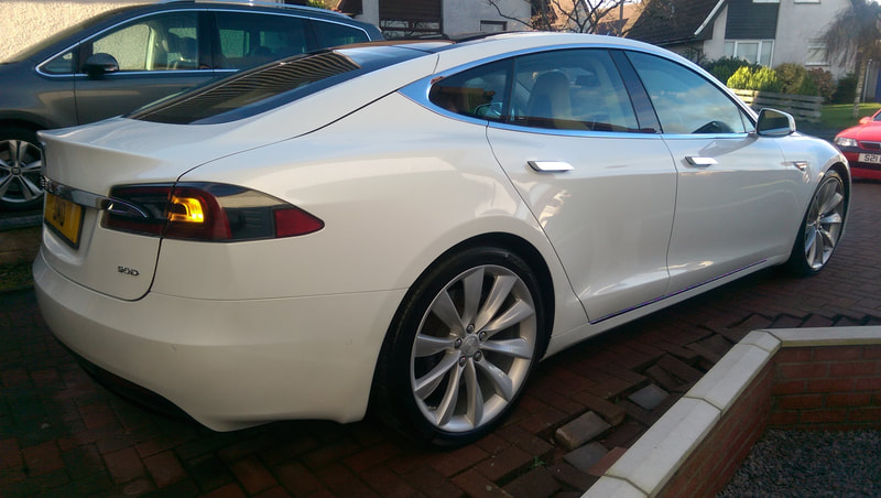Tesla Ceramic Coating