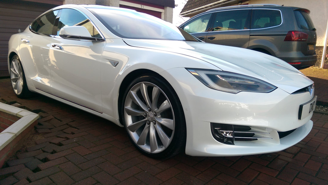 Tesla Model S 90D - New Car Detail.