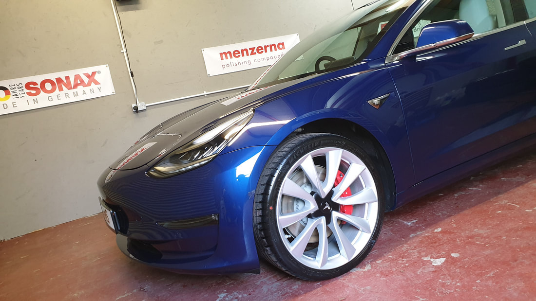 New Car Paint Protection - Tesla Model 3 Performance